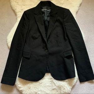 Black Zara Long Sleeve Blazer